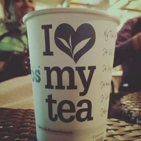 i love my tea